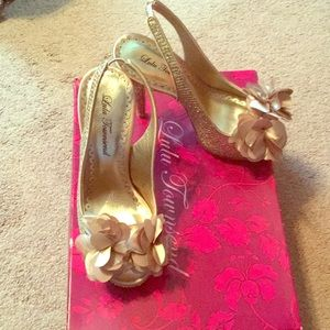 Platinum Gold heels
